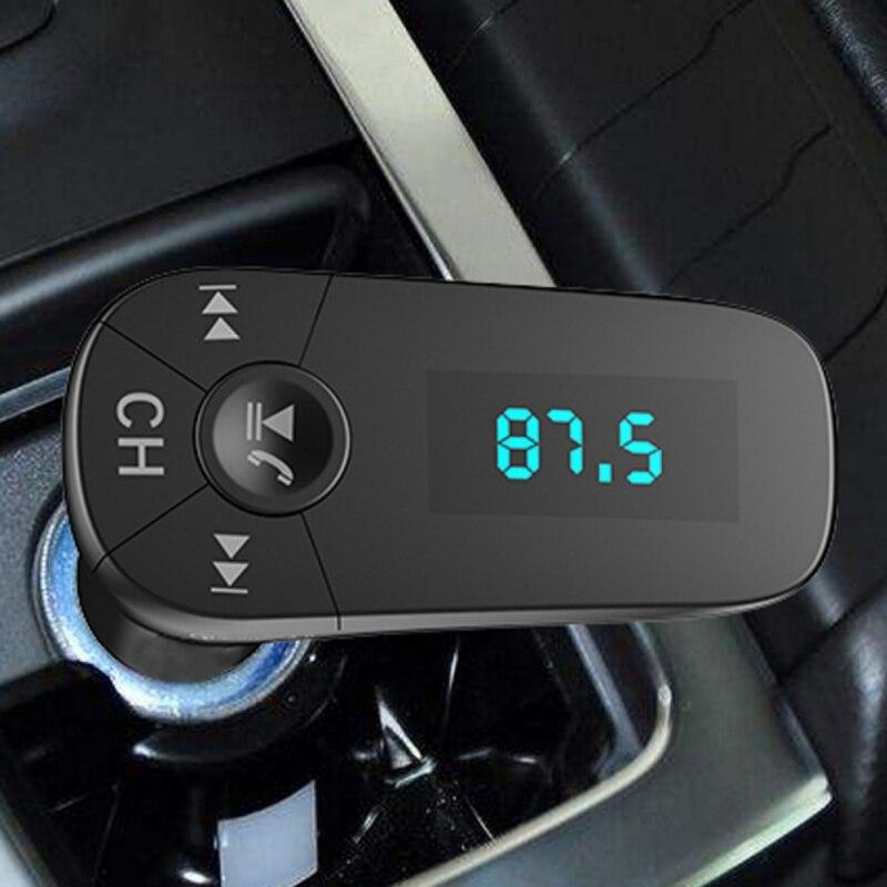 Tragbares Audio & Video Unterhaltungselektronik Flight Tracker Auto Mp3 Player Bluetooth Fm Transmitter Hands-free Car Kit Radio Modulator Dual Usb Qc3.0 Schnelle Lade Stecker Ein BrüLlender Handel