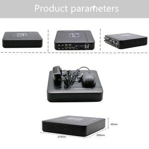 Камера видеонаблюдения Hiseeu AHD, 1080N, 5 в 1, HDMI, NVR, IP, Onvif, PTZ, DVR, 43 дюйма, 8 каналов