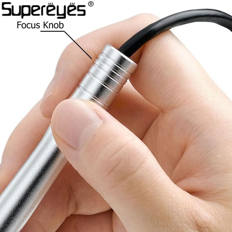 Supereyes B005 Mikroskop cyfrowy 200X Endoskop dentystyczny Kamera - Przyrządy pomiarowe - Zdjęcie 3