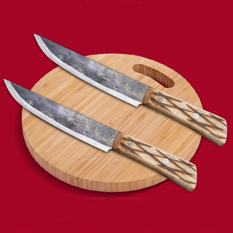 LD Envío gratis Metal forjado Clip hecho a mano Acero Chef Cuchillo - Cocina, comedor y bar - foto 1