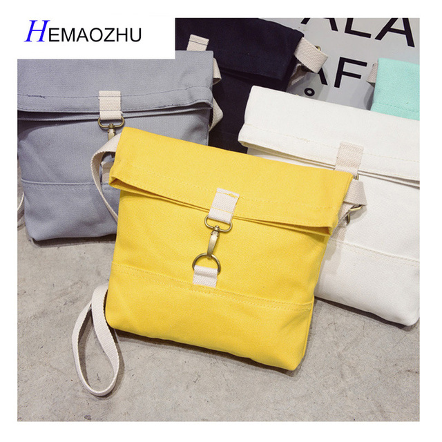 46ca6f3e32 2018 New Japanese Soft Sister Literary Small Fresh Canvas Bag Messenger Bag  Leisure Time Simple Mori Student Bag Women Bag