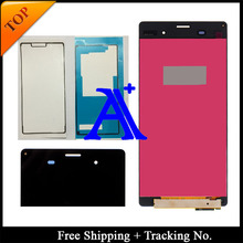 Free Shipping + Tracking No.+Full set Glue 100% tested original For Sony Xperia Z3 L55T D6603 LCD Screen  Assembly –  – 5.2 inch