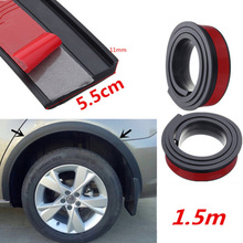 Carbon Car Styling Mouldings Strip Door Protector Moldings Bumper Edge Guards Wheel Eyebrow Sill
