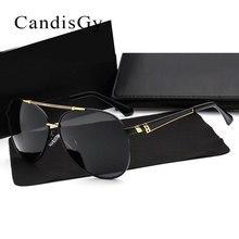 Поляризованные Для мужчин привод солнцезащитные очки-авиаторы, брендовый дизайн, солнцезащитные очки модные UV400 зеркало мужской высокое качество с коробкой UV400