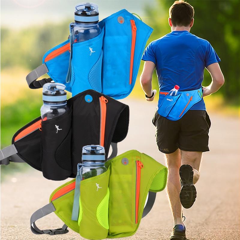 Waist Bags Running Sports Women Pack Pouch Belt Men Purse Mobile Phone Pocket Case Camping Hiking Sports Hot Sale Water Bottle