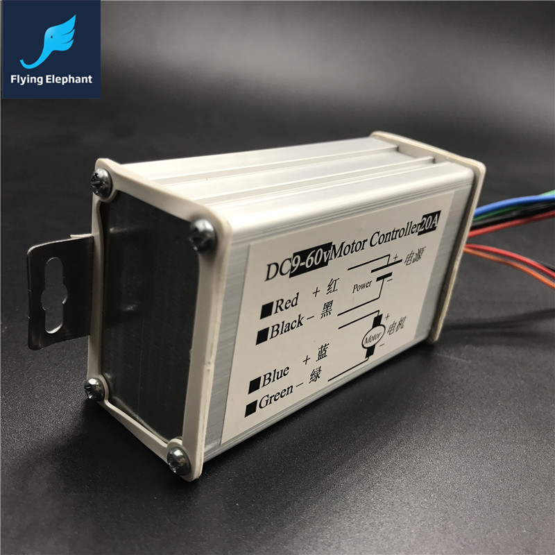 Universal Dc9 60v Motor Controller 20a Pwm Hho Dc Speed