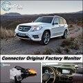 Камеры автомобиля Соединение Заводской Экран/Монитор Для Mercedes MB Benz GLK X204 2008 ~ 2015 Качество Заднего Вида Резервного Копирования камера
