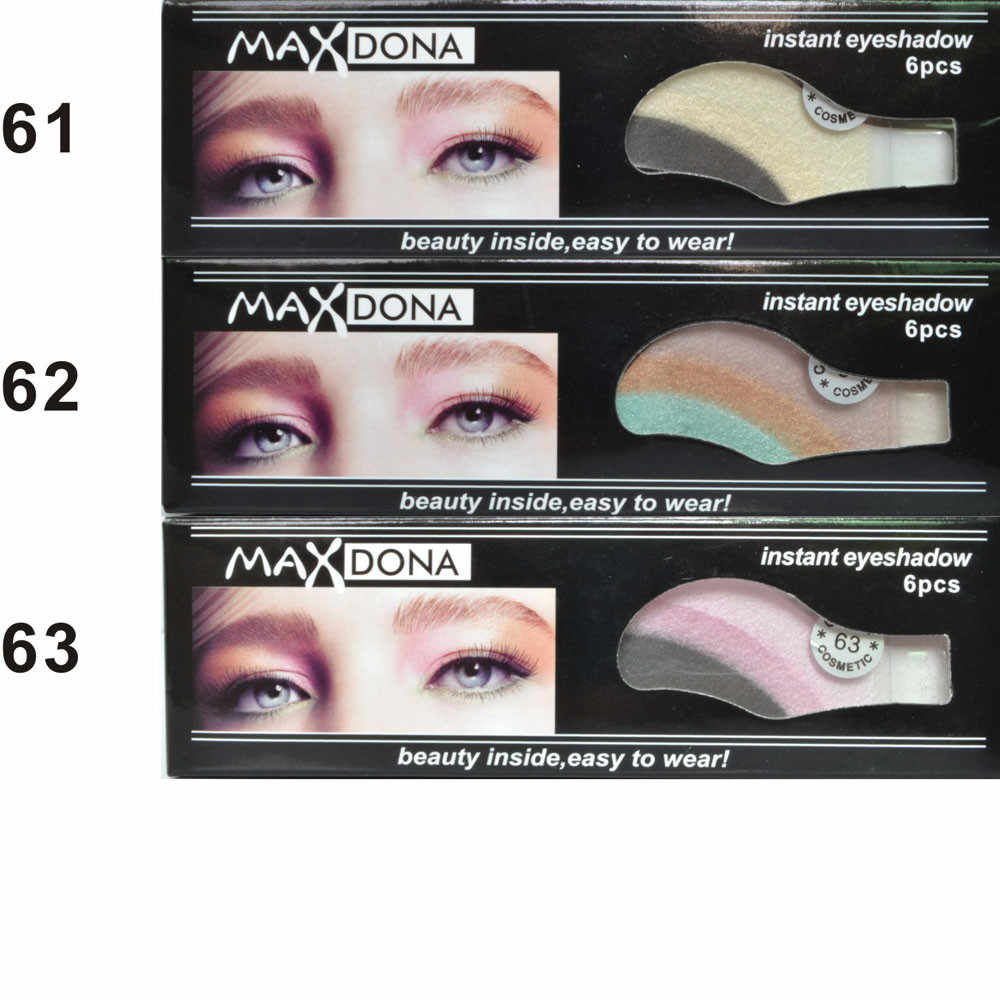 Detail Feedback Questions about 6 Pair Instant Eye Shadow Temporary ...