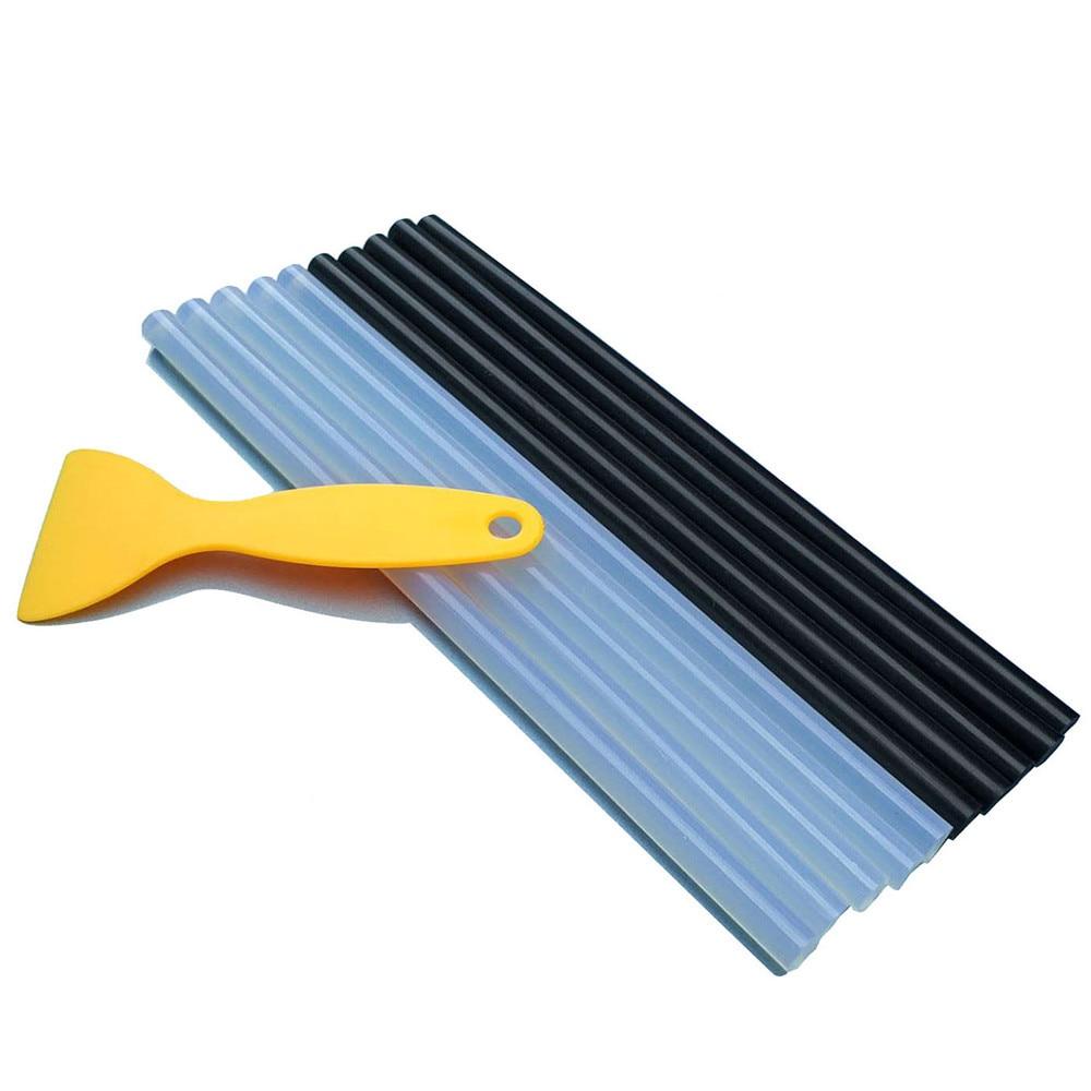10pcs 11mm PDR Glue Sticks Tools Hot Melt Glue Stick For 60-80 Degree Glue Pulling Paintless Dent Repair Tools