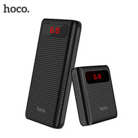 HOCO B20 B20A Dual USB Power Bank 18650 Portable Mobile Phone Charger External Battery Bank Pover