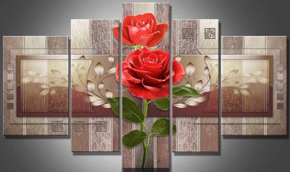 Вышивка крестиком Алмазная мозаика для рукоделия diy 5d Цветочные Волшебная