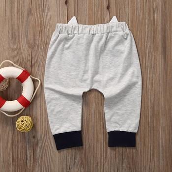 Casual Toddler Bottoms Pants Hot Infant Cartoon Harem Pants Baby Boy Animal Trousers 4