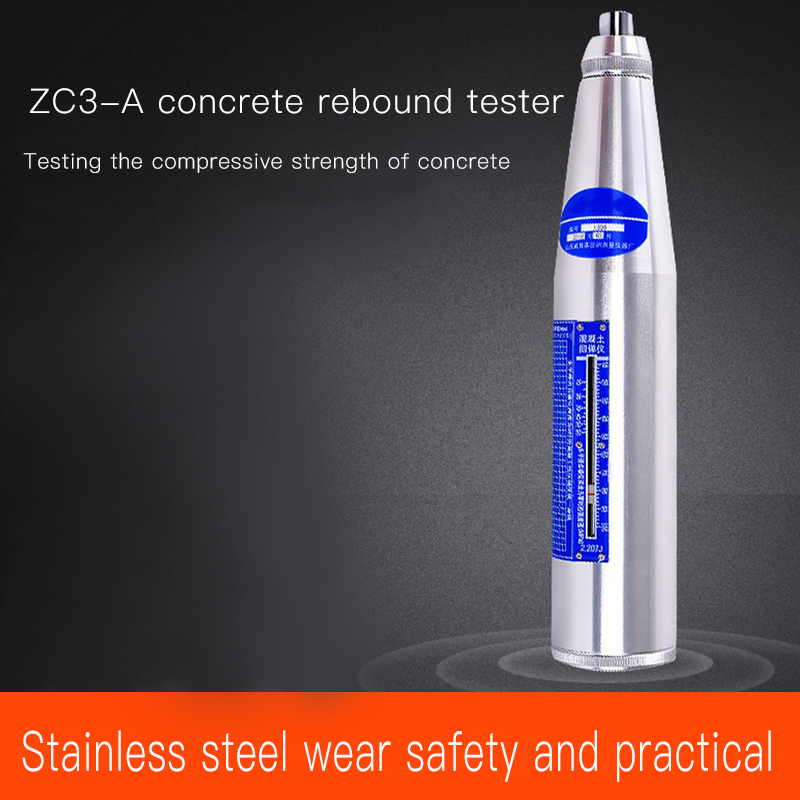 NEW  ZC3-A Rebound Tester Concrete Strength Tester Concrete Compression Strength Tester