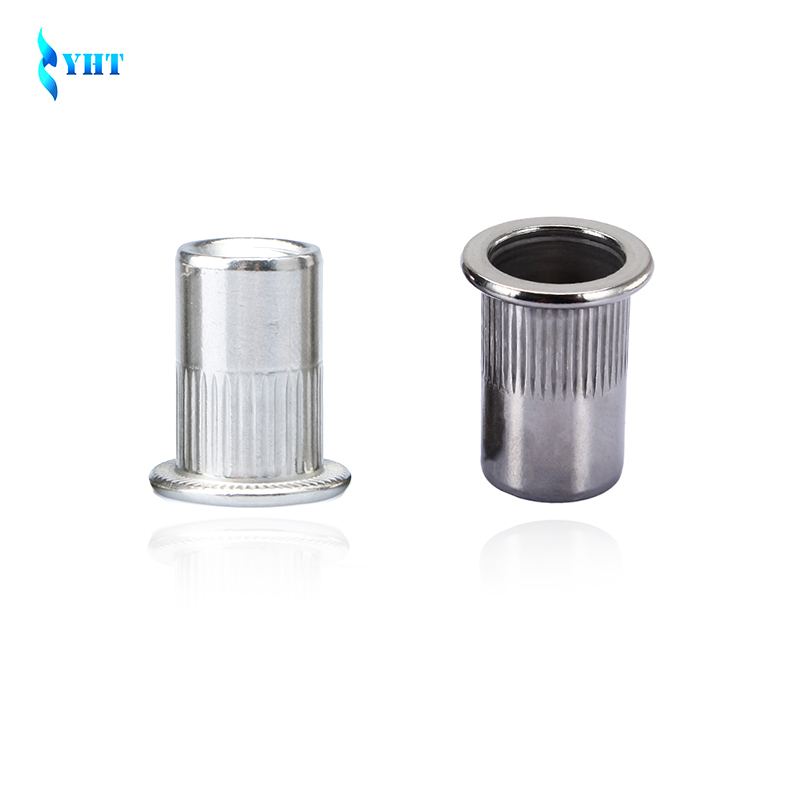 M3 M4 M5 M6 M8 M10 M12 304 Stainless steel Rivnut Flat Head Metric Threaded Blind Blinding Rivet Insert Nutsert Cap Rivet Nut