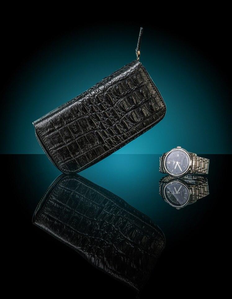 Luxe en cuir véritable + intérieur flanne 2-grille montre boîte Zipper sac stockage montre tiroirs organisateur boîte montre affichage MSBH014