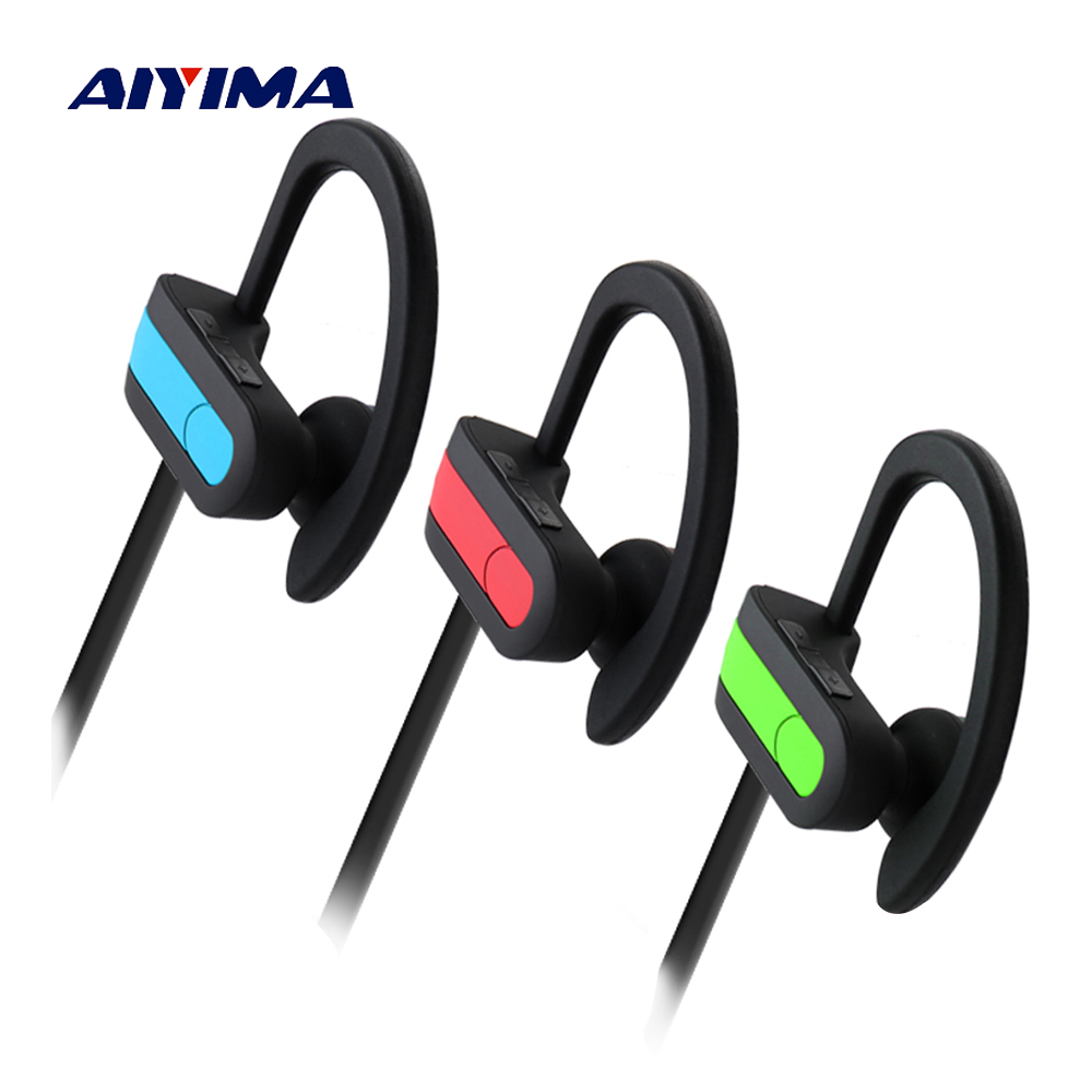 AIYIMA Wireless Bluetooth Headphones Sports Earphone Headset Auriculares Inalambrico Bluetooth Fone De Ouvido In Ear Earphones headset bluetooth fones de ouvido bluetooth wireless earbuds in ear fone de ouvido bluetooth mini bluetooth headset qcy50