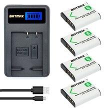 4x Carregador de bateria NP-BG1 NP BG1 FG1 bateria + LCD para SONY DSC-H3 DSC-H7 DSC-H9 DSC-H10 DSC-H20 DSC-H50 DSC-H55 DSC-H70