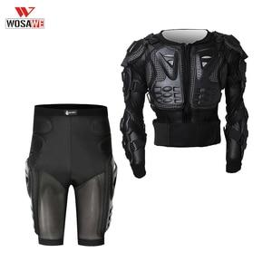 WOSAWE Motorcycle Jacket Full