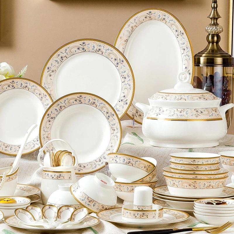набор посуды в китайском стиле