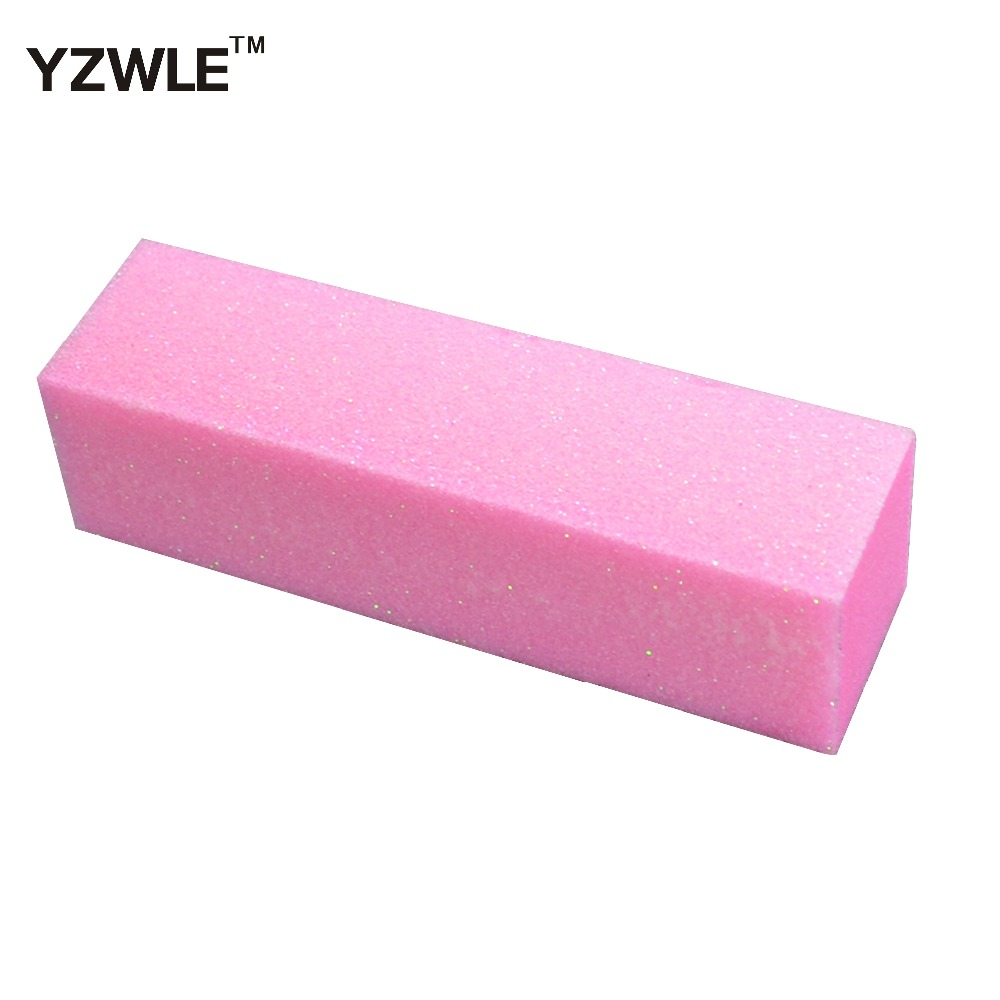 Clearance Sale∙Files-Tool Acrylic Wholesale Buffer-Block Nail-Art-Care Shine Sanding Pink 10pieces 4-Ways