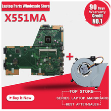 For Asus X551MA Laptop Motherboard/Notebook N2830/N2815 CPU 60NB0480-MB1501-203,100% Tested Before Ship