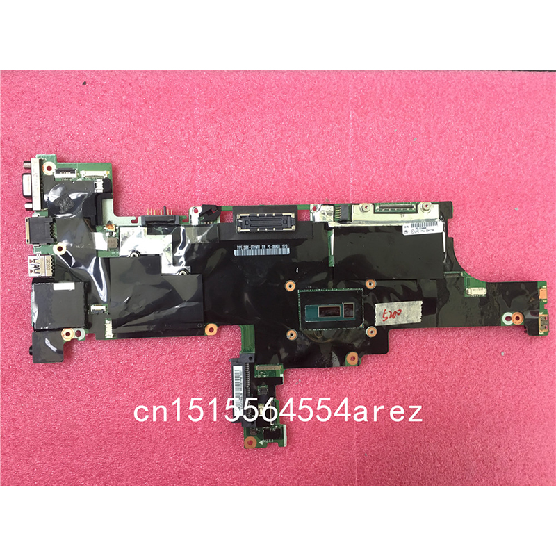 Ordinateur portable d'origine Lenovo ThinkPad T450S carte mère carte mère WIN, i5-5200U, UMA, TPM NM-A301 00HT736