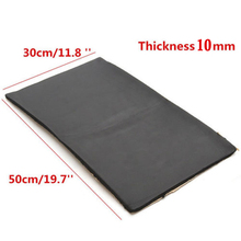 30*50cm Car Sheets Sound Proofing Deadening Insulation 10mm Auto Closed Cell Foam New Sound Insulation Deadener Accessories