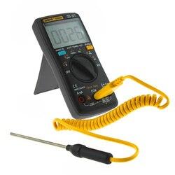 Portátil LCD multímetro Digital AC/DC amperímetro voltímetro Ohm Meter pluma AN8008 AN8009
