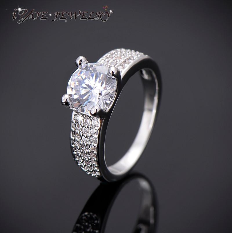 Buy IYOE IYOE Simulated Diamond Engagement Wedding Rings For