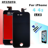 AAA LCD Touch Screen For IPhone 4 4s Display Replacement Digitizer Assembly Parts Pantalla Panel With