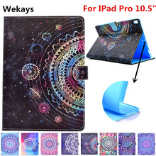Wekays For Apple IPad Pro 10.5 inch Stand Smart Leather Flip Fundas Case For Coque IPad Pro 10.5 2017 Tablet Cover Case Pro 10.5