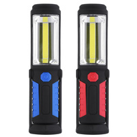 1 LED 1 COB Outdoor Fishing Light USB Charge Magnetic Work Hand Lamp Emergency Torch