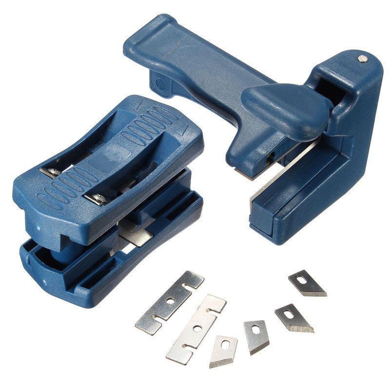 Trimming Device Block Device Wood Double Edge Edge Banding Machine Head Tail Trimmer For Carpenter PVC Binding Strip Hardware