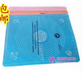 Free shipping,Silicone oven mat pad pan pad chopping board pad high temperature resistant 50 40cm