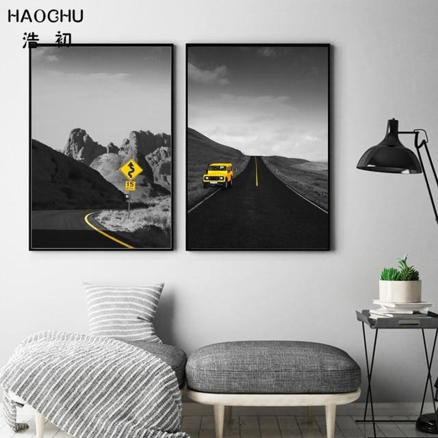 HAOCHU Moderne Filme Autobahn Straße Fotografie Reise Weit Weg ...
