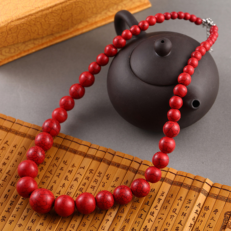 Aliexpress.com : Buy Fashion Personality Red Turquoises ...