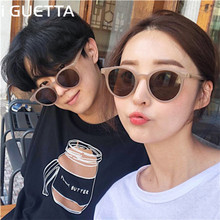 iGUETTA Round Clear Sunglasses Women 2019 Men Sunglass Vintage Fashion Sun Glasses Brand Woman UV400 Lentes De Sol Mujer IYJA497