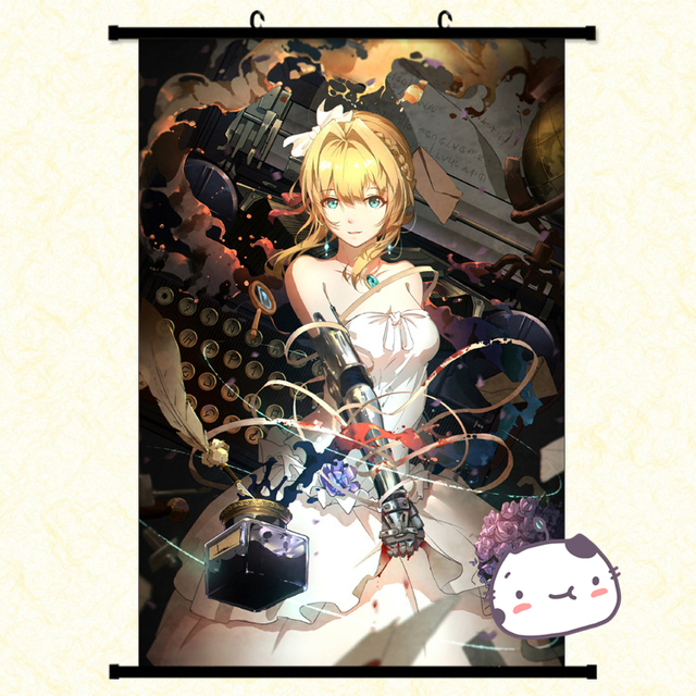 Anime Manga Violet Evergarden Wall Scroll Painting X Picture Wallpaper Stickers Poster