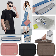 Notebook Sleeve Multi Pocket for Macbook Pro/Air 11 12 13 14 15.6 inch Women Laptop Bag Waterproof Case For Mac 13.3 Touchbar