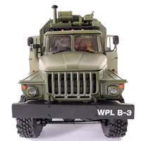 NEW toy 1:16 2.4G 6WD WPL B 36 B36 VS C24 B 24 Ural Rc army Car Military rc Truck outdoor Rock Crawler Command Vehicle RTR