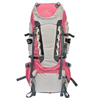 65L Outdoor Waterproof Oxford Mountaineering Bags 55+10L Hiking BackpackTravel bags Professional Climbing Bags backpack trekking