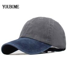 купить YOUBOME Baseball Cap Men Brand Snapback Caps Women Hats For Men Flat Solid Cotton Embroidery Fitted Casquette Bone MaLe Dad Cap по цене 365.79 рублей