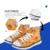 FORUDESIGNS Aventura Dos Desenhos Animados Tempo Andando Sneakers Esporte Plano Running Jogando Calçados para Meninas e Meninos Sapatas Da Escola Das Crianças