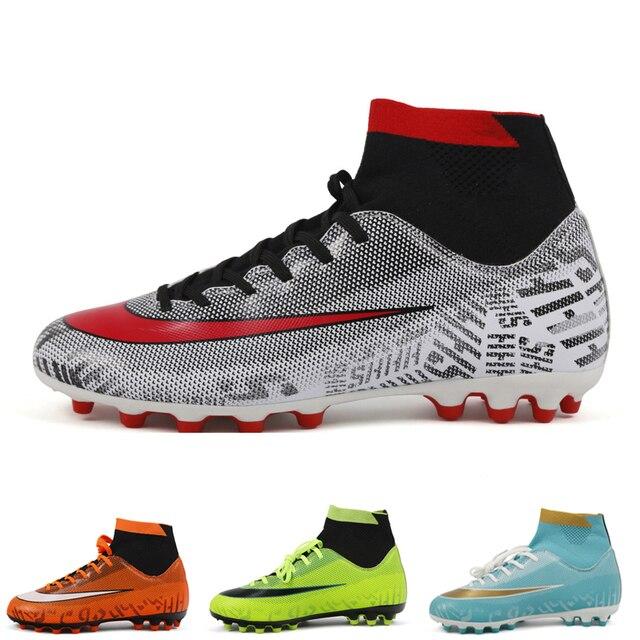 4fa9a82a88783 2018 nuevo Chuteiras Futebol botas de fútbol hombres Superfly de fútbol  Zapatos niños zapatos Tf tobillo