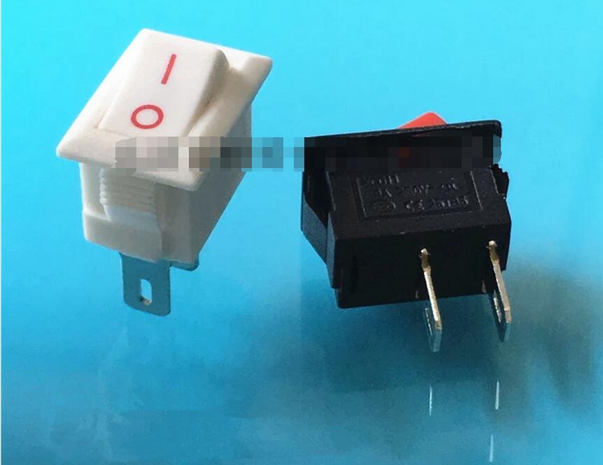 10*15mm SPST 2PIN ON/OFF Boat Rocker Switch 3A/250V Car Dash Dashboard Truck RV ATV Home Sell At A Loss USA