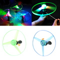 1Pc Spin LED Light Outdoor Toy Frisbees Boomerangs Flying Saucer UFO