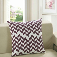 100 Cotton Square Cushions For Home Decoration 45X45cm Size Multi Style Square Pillow For Adults Geometric