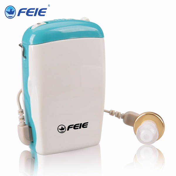 S-6D (1) Ear Voice Receiver Analog Box Type hearing aid for the old aged S-6D