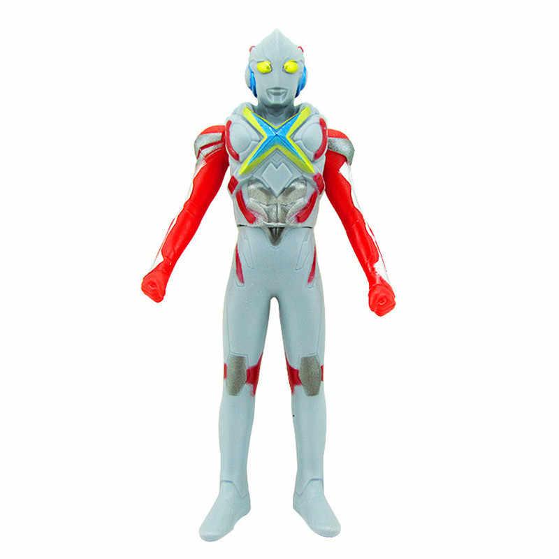 13 centímetros cola macio brinquedo monstro superman beria di casero set boneca das crianças 17 tipos de ultraman modelo joint atividades removíveis