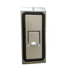 WF2 металлический корпус отпечаток пальца дверь контроль Лер водонепроницаемый биометрический и карты контроля доступа высокая скорость открытый считыватель отпечатков пальцев